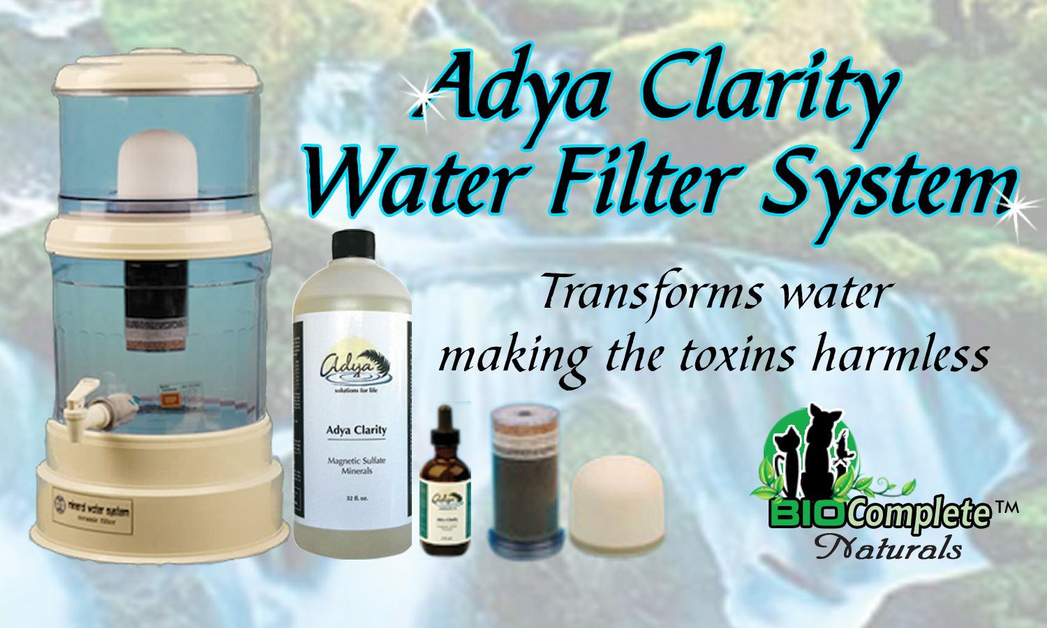 Mineral Water Filtration System. A Healthy Choice For You And Your Pets! Click For More Information And To Purchase