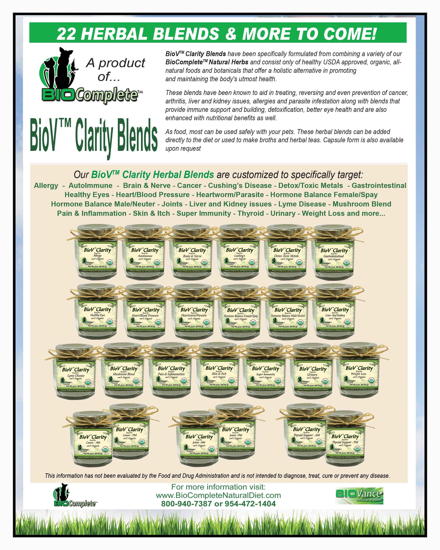 BioV Clarity Herbal Blends