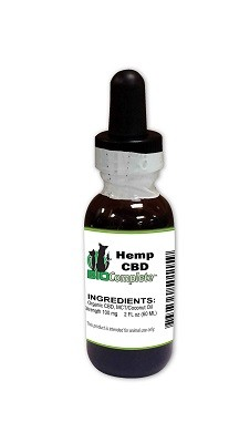 BioComplete CBD Hemp Oil 100 mg. 2 oz.