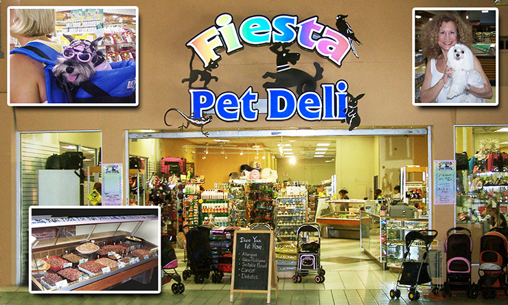Store Front...Enter Our Unique Pet Deli!