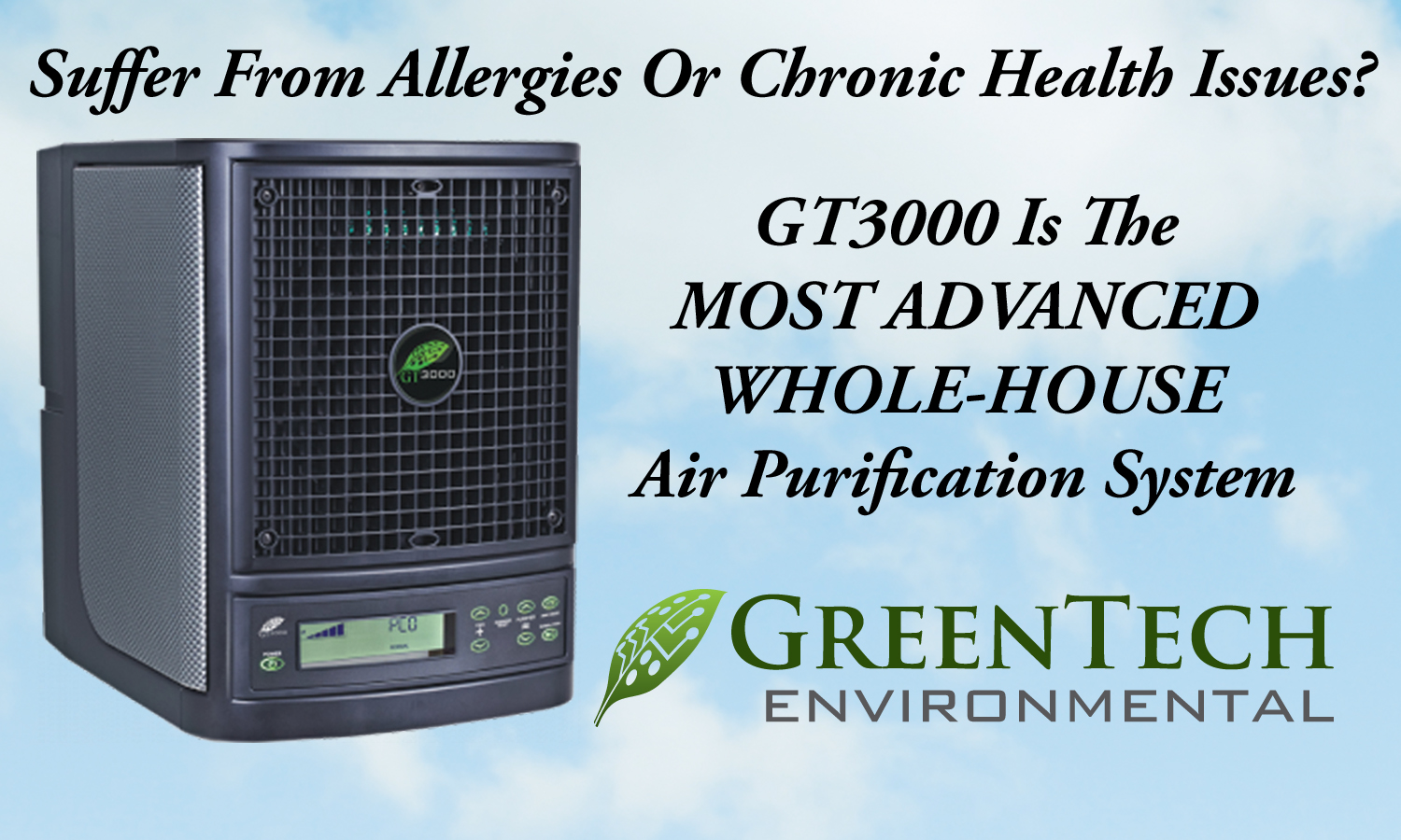 Air Purity That Goes Beyond Traditional Air Filtering Methods! Click For More Information And To Purchase
