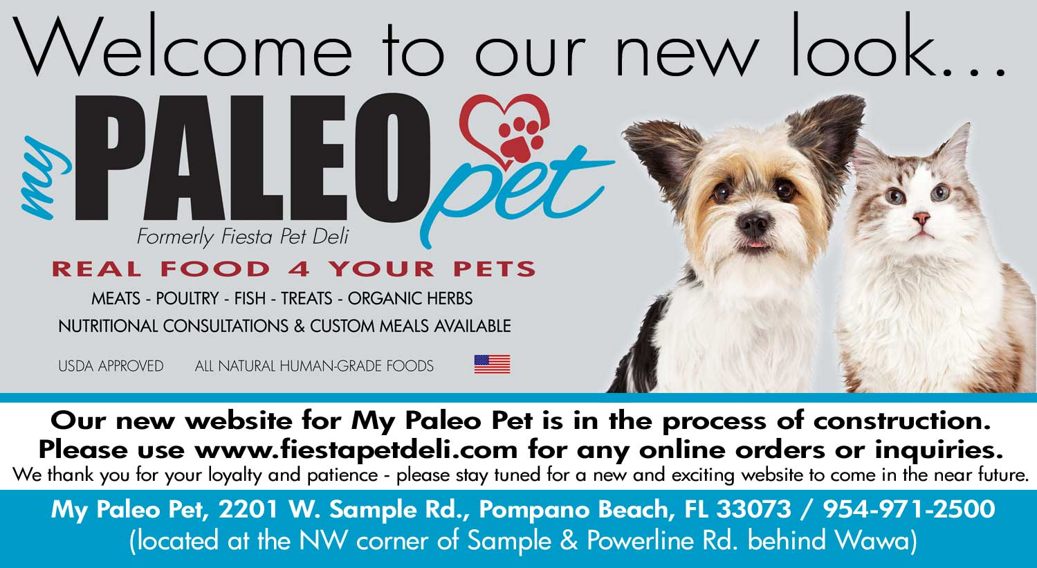 NEW LOCATION: 2201 W. Sample Rd., Bldg. 8, Suite 5A, Pompano Beach, FL  /  954-971-2500