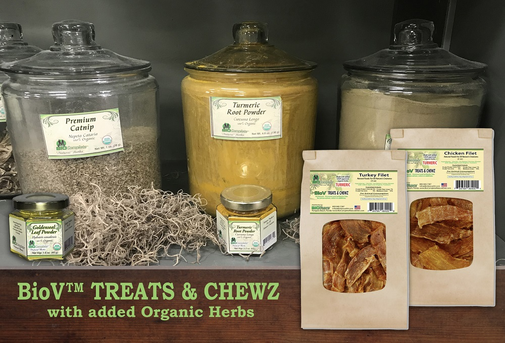 Treats with Herbs