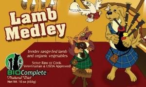 BioComplete Lamb Medley 1 lb.