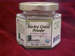 BioComplete Organic Barley Grass Powder