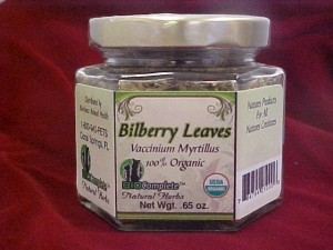 BioComplete Organic Bilberry Leaves