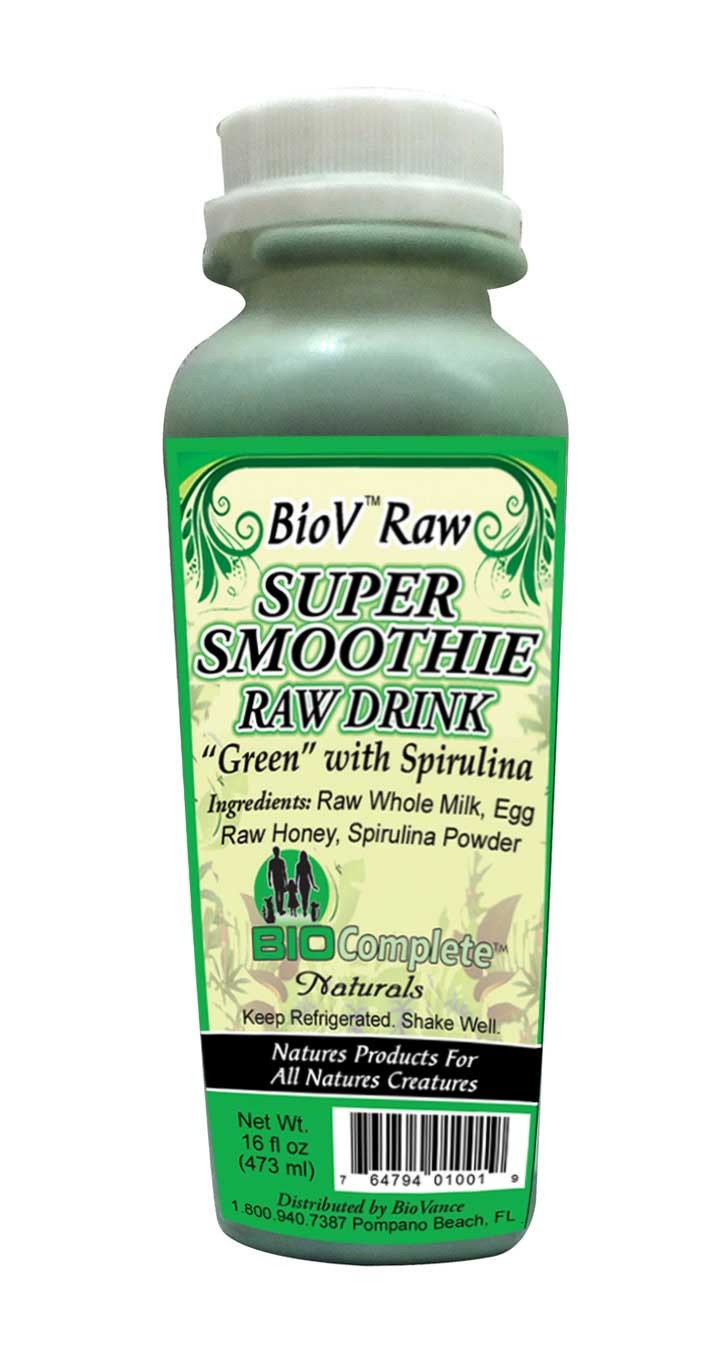 BioComplete Super Raw Drink Green 16 oz