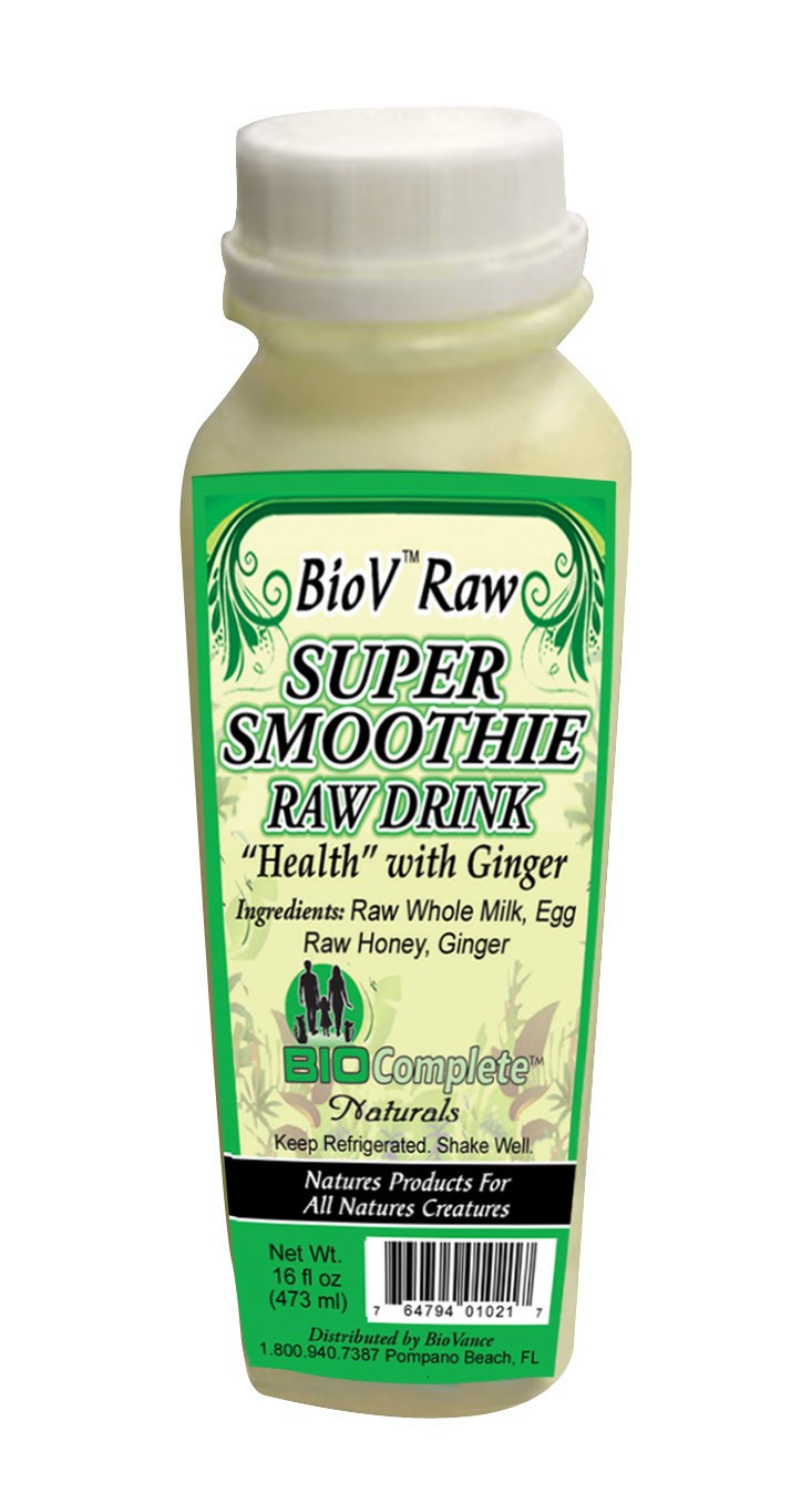 BioV Super Raw Drink Health 16 oz