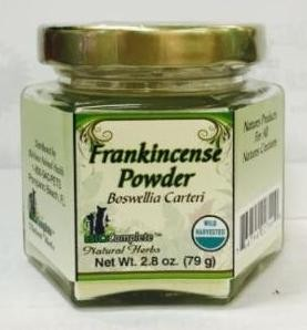 Frankincense Resin and Powder Profile