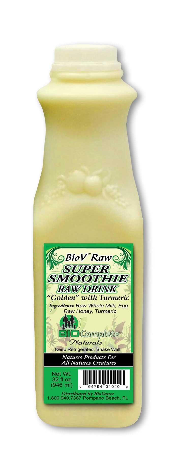 BioV Super Raw Drink Golden - 32 oz