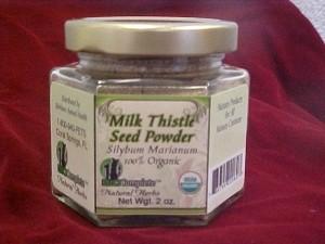 BioComplete Organic Milk Thistle Seed Powder