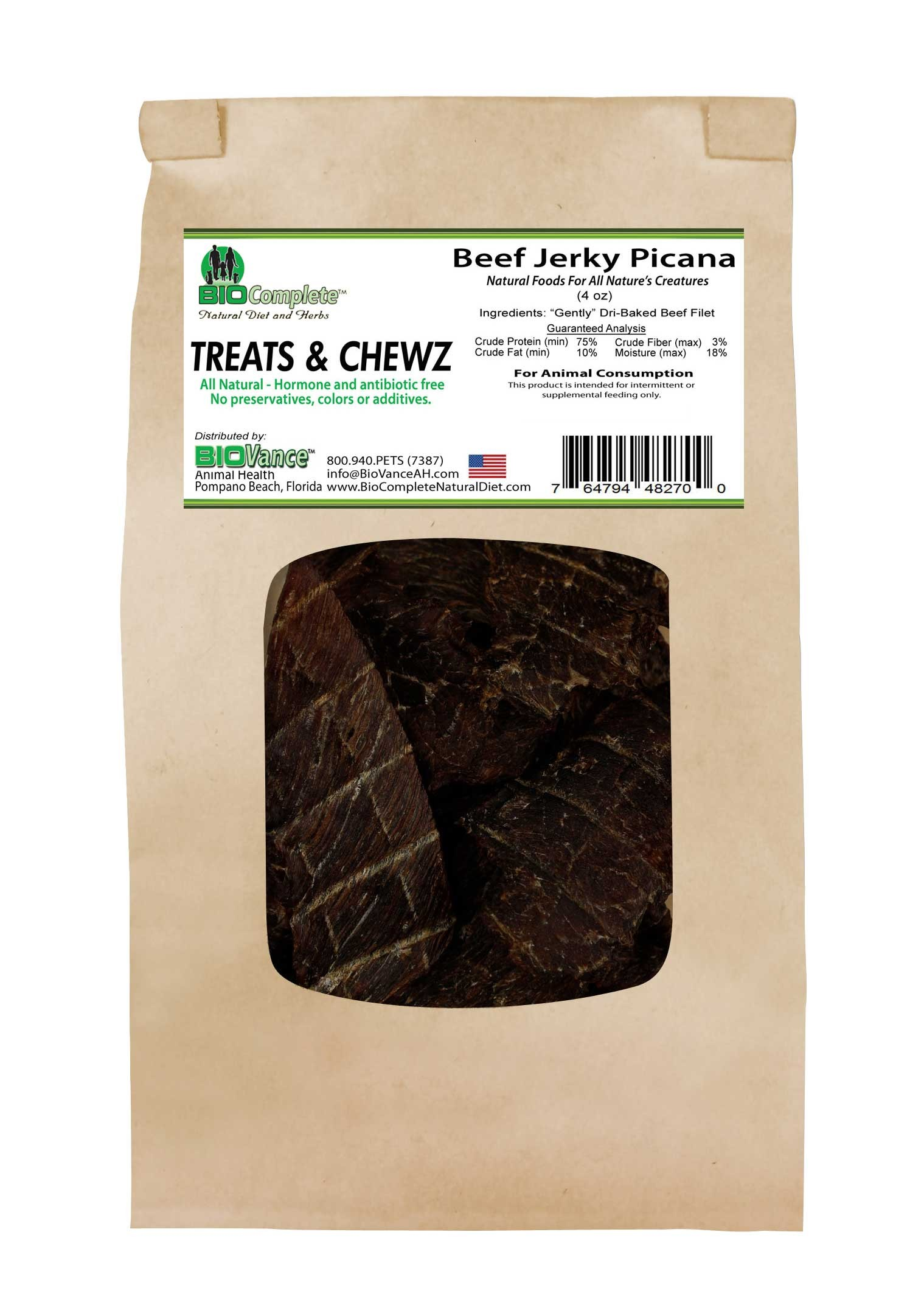 BioComplete Beef jerky Picana Filet
