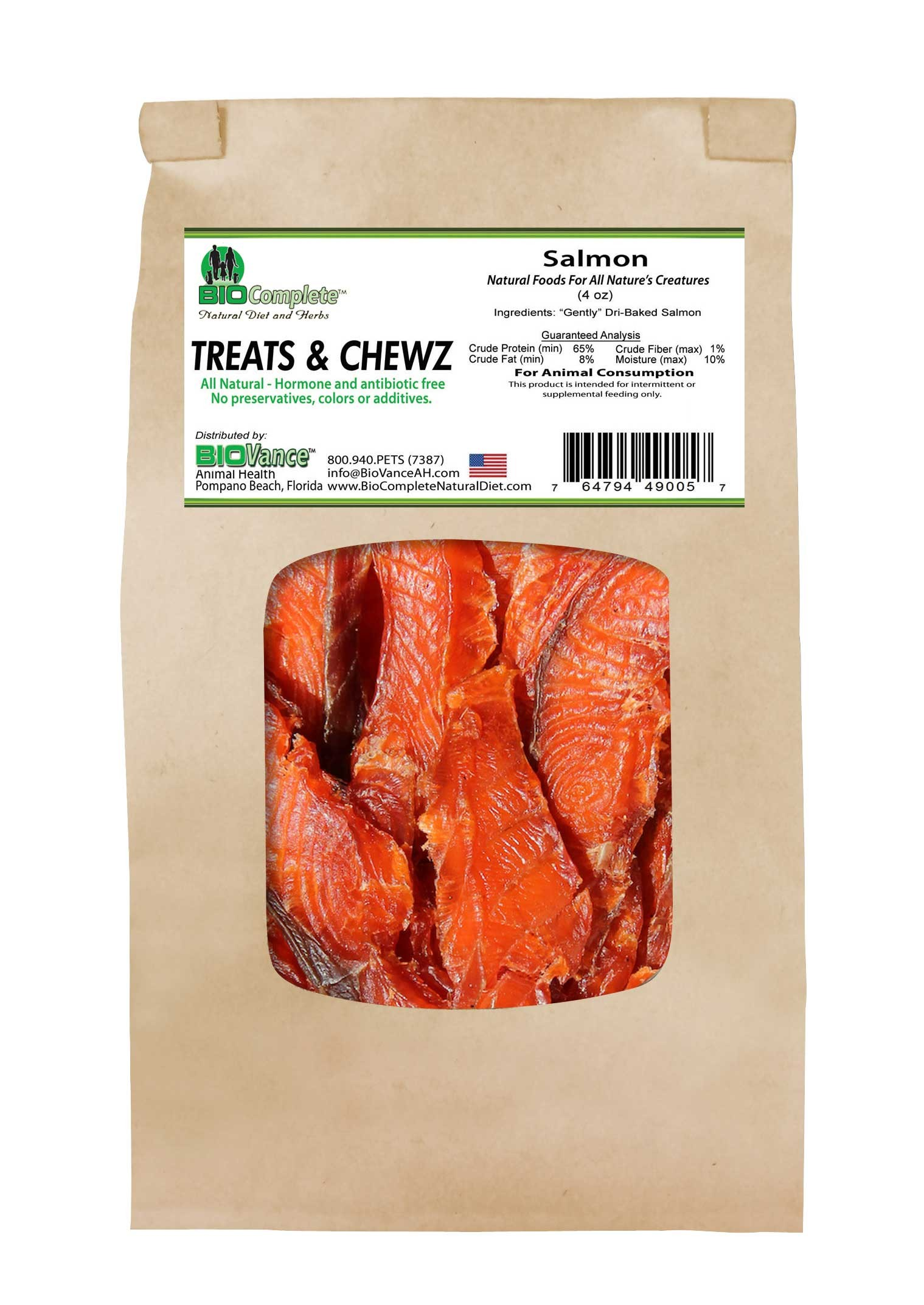 BioComplete Salmon Treats