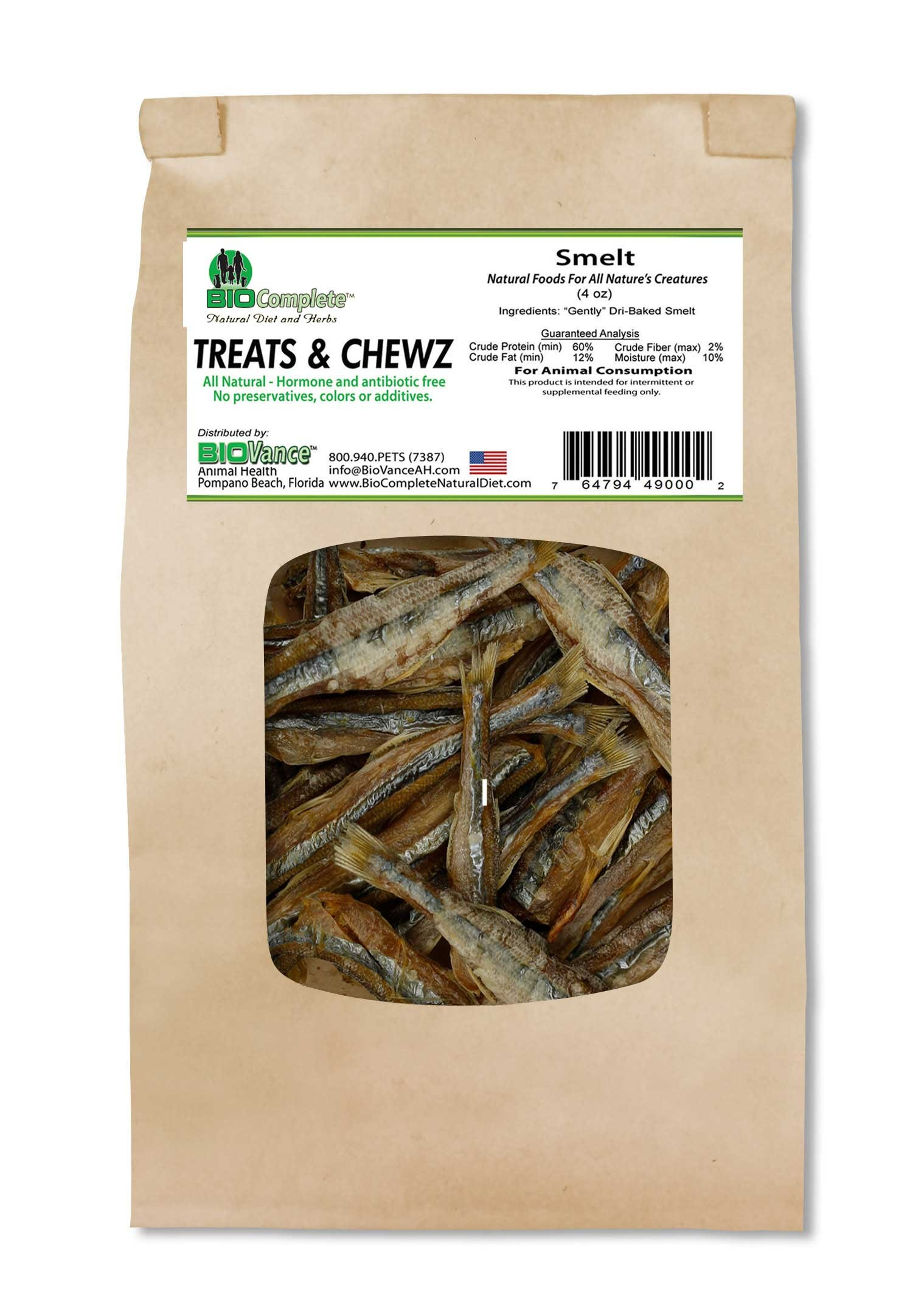 BioComplete Smelt Treats