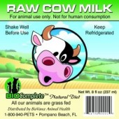 BioComplete Raw Cow Milk