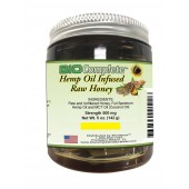 BioComplete Hemp Infused Raw Honey